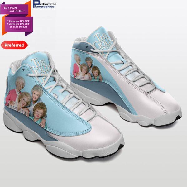 The Golden Girls Jordan 13 Shoes