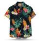 Fireball Cinnamon AOP Hawaiian Shirt
